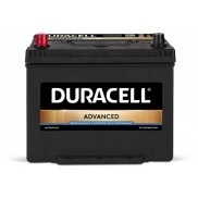 Акумулатор Duracell Advanced JIS 12V 70Ah /Л+/