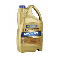 Моторно масло RAVENOL Super Synthetik Ol SSL 0W-40 4л.