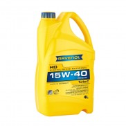 Моторно масло RAVENOL Turbo-C HD-C 15W-40 4л.